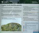 Sign at North Head