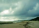 Ulverstone Beach, looking east