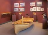 Huon pine dinghy