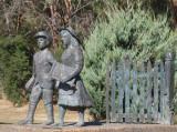 Stephen Walker's sculpture