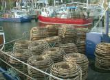 Crayfishing boats