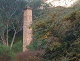 Old mine chimney