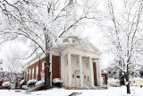 First Presbyterian Church Tyler, Texas - Snow Pictures-  February 11,  2010