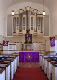 First Presbyterian Church Tyler, Texas  - Lenten Paraments