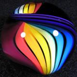 Rainbow Ribbon Size: 1.46 Price: SOLD