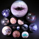 Mineral Spheres - Tucson, Feb 2010