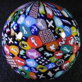 Murrini Sphere Size: 2.47 Price: SOLD
