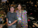 Brendon and Wakana Ogura, Aki's studio mate and business partner.  She made the very cool ant bead I bought.