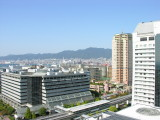 View of some of Kobe from our room.