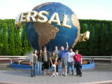 10/22 - Universal Studios in Osaka!  We packed up from the Kobe hotel and headed to Universal, 15 of us total.