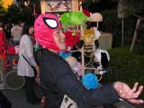 Aki, aka Spider Goof, ha ha.
