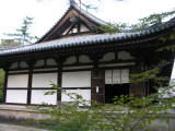 One of the many buildings in the complex.  The main temple was under a metal structure being renovated.