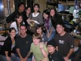 Group shot!  From back - Aki, Yuko, Yuko's friend, Sari, Melissa, Wakana, Jamie, Paul, Becky, Josh, Brendon & Yoshio
