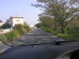 10/24 - Van load of people, narrow Nara roads, Aki driving like a madman to our next Nara destinations.