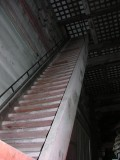 Seriously steep stairs to....nowhere I think.