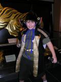Brendon takes his ninja duties seriously!