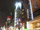 This is the famous Ginza district, with every upscale shop you can imagine, and real estate costing $100,000/sq meter.