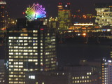 Zooming in closer on that ferris wheel as the city goes dark.