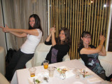 Charlie's Angels - Melissa, Jamie and Becky.  OK, really Josh's, Paul's and Brian's angels, ha.