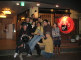 Not doing such a good job holding Yoshio for the group pic!