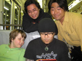 Yoshio became Brendon's 'DS Buddy' for our entire time there. We were thankful Yoshio took such good care of Brendon.