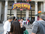 We were there before the gates opened, headed to Spiderman first, STILL had a long wait.