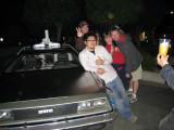 Yoshio's dream car, the DeLorean.