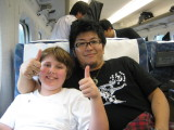 Buds for life.  We were so thankful for Yoshio's friendship to us and Brendon.