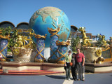 10/28 - A day at Disney Sea, a separate park from Disney Land, beautifully done.