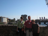 The Tower of Terror behind us, and you can see the real ocean from higher vantage points.