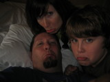Family sadness - none of us wanted to go back home....last pic in the hotel....