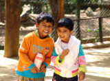 Gowri and Gokul @Bannerghatta National Park