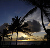 Sunrise at Kapaa, Kauai