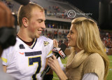 Andrews interviews Hokies QB Glennon for ESPN