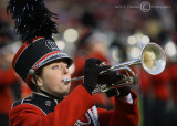 The UGA Redcoat Band plays at halftime