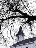 OLd Baptist Church in Winter - Onancock, Virginia