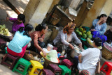 Lunchtime Mandalay Market