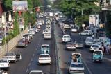 Yangon rush hour
