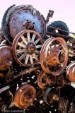 Wheels from many decades