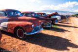 Lots of 40's Oldsmobiles
