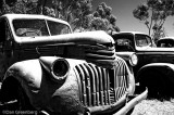 1941 - 46 Chevy Truck B&W IR