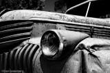 1941 - 46 Chevy Truck B&W IR #2