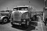 1955 White Freightliner with 1955 Fruehauf Trailer