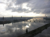 A broad view on Old Town & Daugava & Zakusala