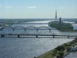 Bridges over Daugava and Zakusala