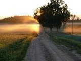 Sunrise near Karkli, Cesvaine region