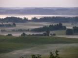 View from Makonkalns on Razana
