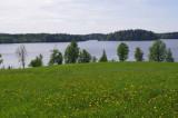Kala lake near Vestiena
