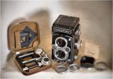 Rolleiflex Tessar 75/3.5   with Rolleikin