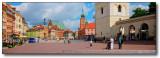Warsaw Old Town Framed (Warsaw, Poland)